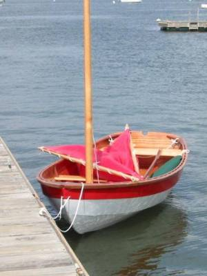 Shellback Dinghy, designed by Joel White